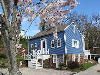Photo for Charming Rustic 1900-Oysterman's Cottage In Historic Quinnipiac River Waterfront