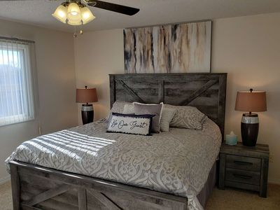 Photo for All NEW furnishings. New Decor. 2 BDR, 2 Bath Condo at Gated Golf Course Community: Pointe Royale!!