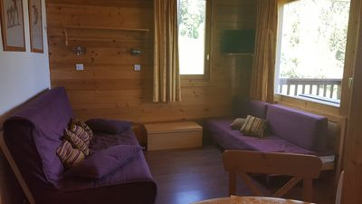 Photo for 1BR Apartment Vacation Rental in VALMOREL