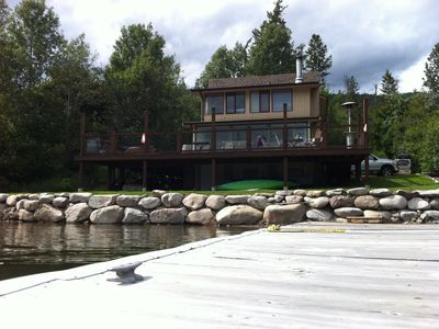 Photo for Shuswap Lake -private beach & boat launch - Beautiful Summer Getaway