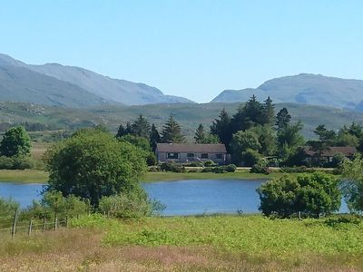 Photo for Highland home, sleeps up to 8, beautiful setting on the shores of Loch Shiel,