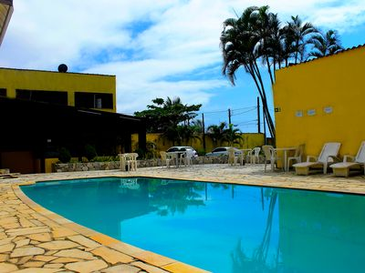 Photo for Stay in front of the sea in Pousada H Guarujá!