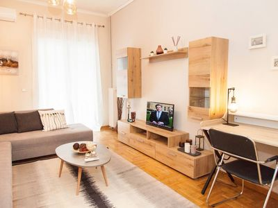 Photo for Stay in Pagkrati in a newly renovated & stylish apartment!
