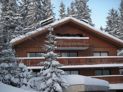 Photo for COURCHEVEL 1850 3 rooms apartment + mezzanine on the 1st floor cottage