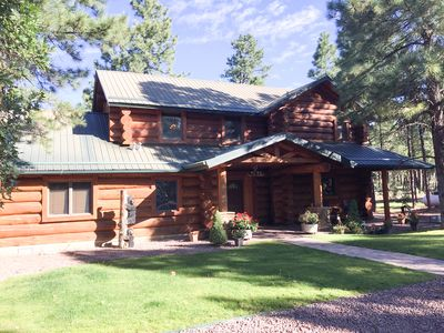 Photo for Dana Rosa True Log Home In The Pines