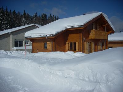 Photo for WOODEN CHALET to PREMANOM