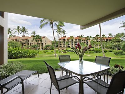 Photo for GROUND FLOOR LARGE LANAI **  7-103 *March 25 -Apr 8 OPEN**