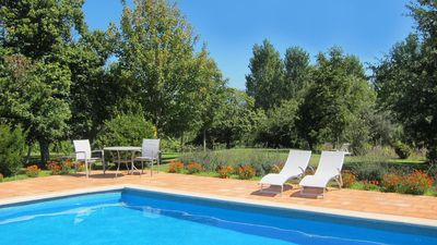 Photo for Casa de Abbades - MANEL'S HOUSE WITH SWIMMING POOL - 1º FLOOR - Free Wi-Fi