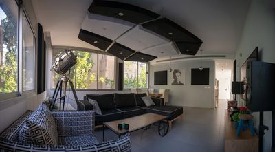 Photo for stylish Villa with a BIG YARD and POOL in THE BEST location in tel aviv!