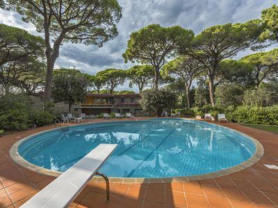 Photo for Villa Borghese - wonderful villa with private beach and pool in Roccamare