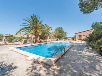 Photo for A rural idyll with garden and pool - Villa Son Coves