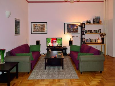 Photo for Spacious apartment in a superb central location.