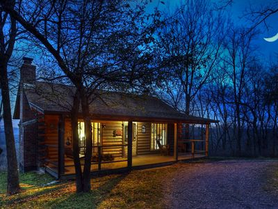Photo for Pet Friendly Uniquely Themed Luxury Cabins Surrounded by Woods, Water & Wildlife