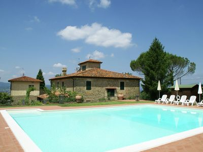 Photo for Attractive Holiday Home with Pool, Terrace, Garden, Barbecue