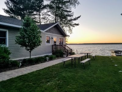 Photo for Beautifully Maintained Retreat Overlooking Big Arbor Vitae Lake