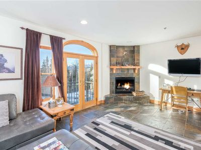 Photo for 2-Bedroom With Mountainside Balcony, Hot Tub & Pool Access