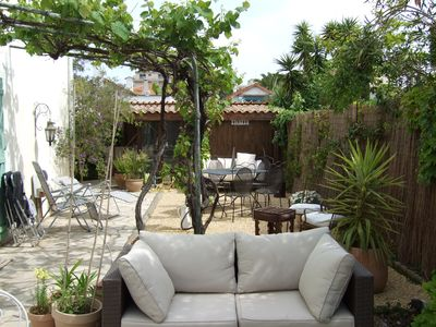 Photo for LA NAPOULE Lovely Garden Studio by The Sea facing S/W so plenty of sun