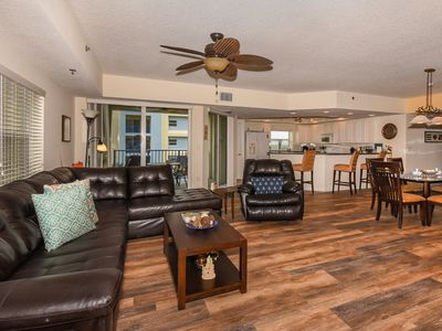Photo for Gorgeous 3 bedroom 2 bath corner condo on the 4th floor in bldg. 15 ow15-401