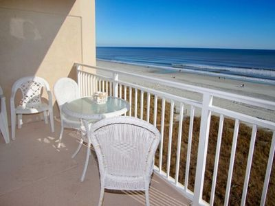 Photo for San a bel 302, Lovely 2 BR Ocean Front Condo with an Indoor Swimming Pool and Ocean Front Hot Tub