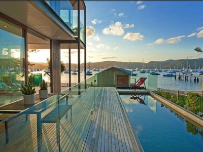 Photo for Absolute waterfront luxury beach house, pet-friendly