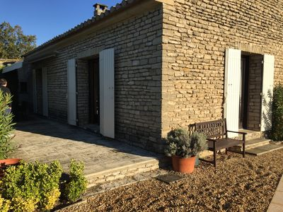 Photo for Charming villa located just minutes walk from the beautiful village of Gordes