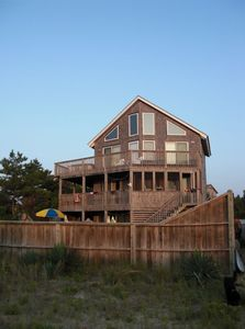 Photo for Hatteras Island Oceanfront Big Pool Awesome View Right On The Best Beach!