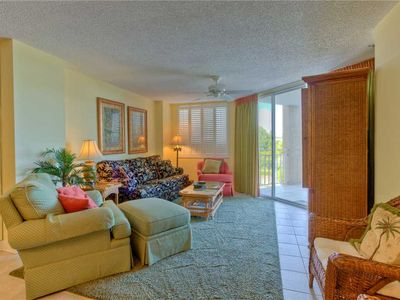 Photo for Oceanfront and Amenities. Enjoy a Private Boardwalk to Beach and a Community Pool!