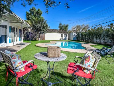 Photo for NEW LISTING! Main home & guest house, pool,  Encanto-Palmcroft neighborhood