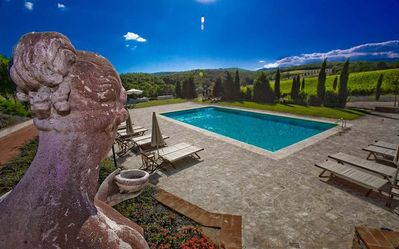 Photo for 7BR Country House / Chateau Vacation Rental in Montebenichi, Toscana