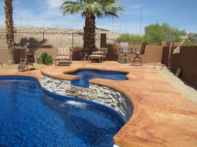 Photo for Fall dates Available! Amazing Pool & Jacuzzi, Just 2 Mins to Lake or Downtown