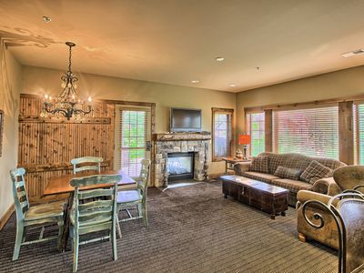 Photo for 2BR Luxurious Creekside Condo at Boyne Mountain - Ski In/Ski Out.