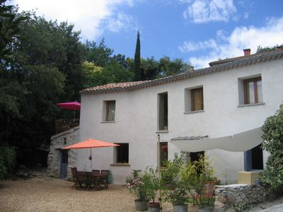 Photo for At the feet of the Cévennes, charming house in Cazilhac