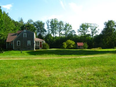 Photo for Swim, Hike, Bike- Charming House With Design On Acres Of Beautiful Land