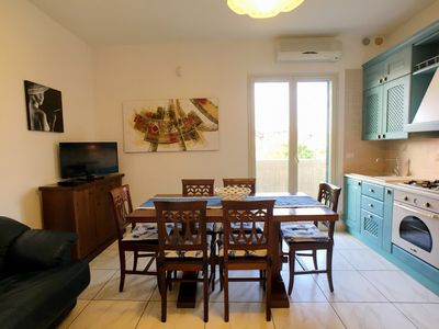 Photo for Comfortable and strategic apartment in Lido San Giovanni area about 150 meters from the first beach