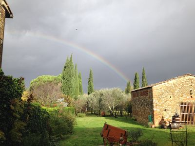 Photo for Rosemary: Typical farmhouse in Chianti