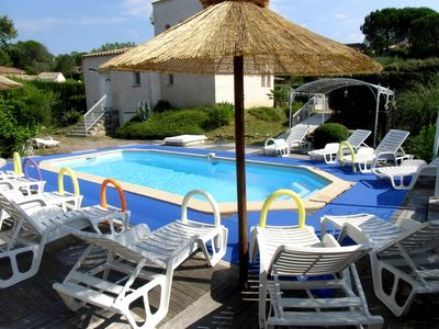 Photo for 10 km from Mandelieu la Napoule, lake of St Cassien (cottage 2-4pers) swimming pool, wifi