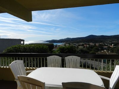 Photo for THE FAVIERE - Pleasant 3 rooms with sea view