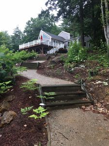 Photo for Lake Winnisquam, NH  Comfy 1BR Apartment Sleeps 5, Boat Dock Included