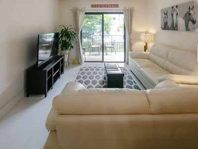 Photo for Reduced Seasonal Rates! Beautiful 2/2 Apt Steps to the Beach!