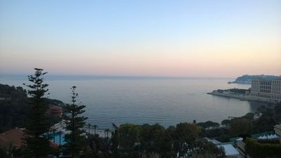 Photo for Beautiful Spacious apartment with sea view steps away from Monaco