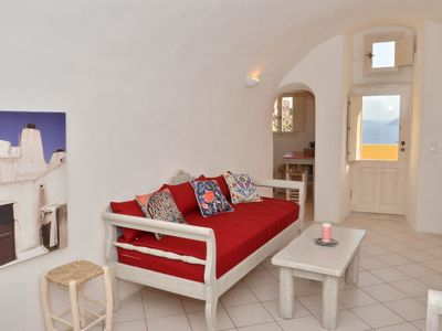 Photo for Lava House in Villa Ariadni, Oia