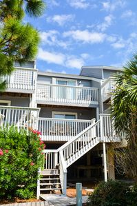 Photo for 2 Bedroom, 2.5 bath in Barrier Dunes, Short stroll to beach, Pets welcome, Community pool!!!