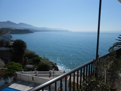 Photo for Superb 1 bedroom apartment offering unrivaled sea and mountain views.