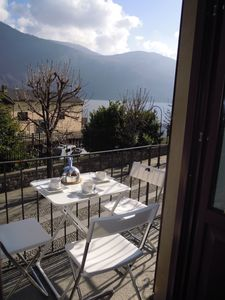 Photo for 3-room apartment with sunbathing on the splendid lakeside promenade of Cannobio