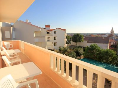 Photo for Two bedroom apartment with terrace Novalja (Pag) (A-9403-b)