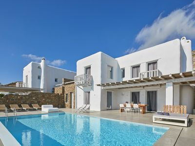 Photo for Exclusive Villa in Houlakia, Mykonos