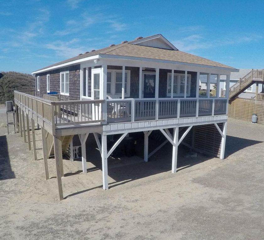 Kitty Hawk House Al View Facing The Ocean Relax In Screened
