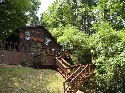 Photo for On the Cheat River. HOT TUB !  Private. Pet Friendly, Fully Staffed.
