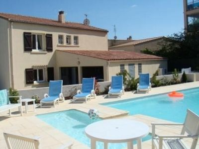 Photo for Mediterranean villa with private swimming pool 5min from sea