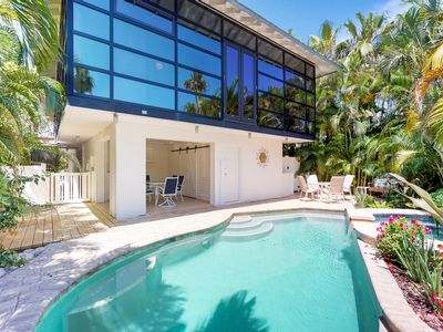 Photo for High-end home w/ private pool & spa, courtyard, & floor-to-ceiling windows